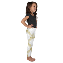 Load image into Gallery viewer, Elegant Mermaid Leggings for Girls Rash Guard Set - Periwinkle Baby