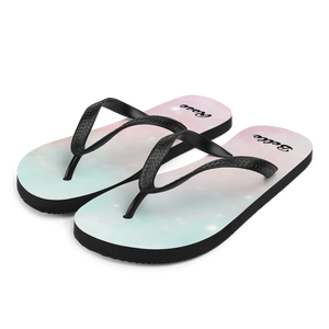 Stardust Dream Flip Flops (Customize #name) - Periwinkle Baby