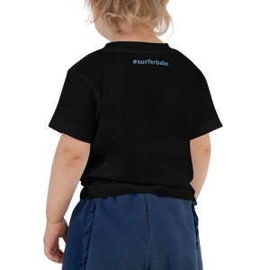 Toddler Make Waves T-shirt (Front and Back Customizable) - Periwinkle Baby