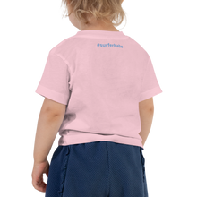 Load image into Gallery viewer, Toddler Make Waves T-shirt (Front and Back Customizable) - Periwinkle Baby