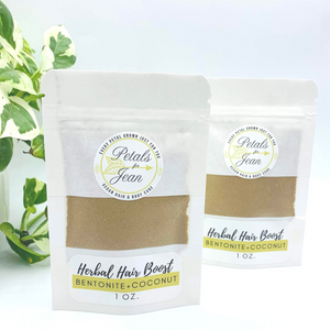 Herbal Hair Boost- Coconut Milk & Bentonite Clay