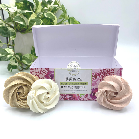 Bath Rosettes - Set of 6