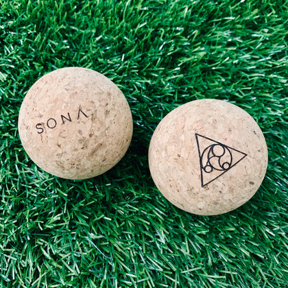 Cork Massage Ball Set