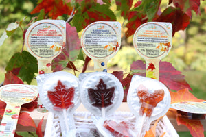 maple candy lollipop