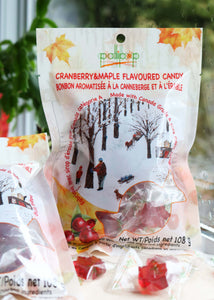 Cranberry Maple Candy Lollipop