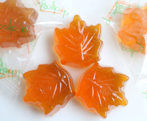 maple syrup candy lollipop