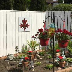 Oh Canada Backyard Quilt