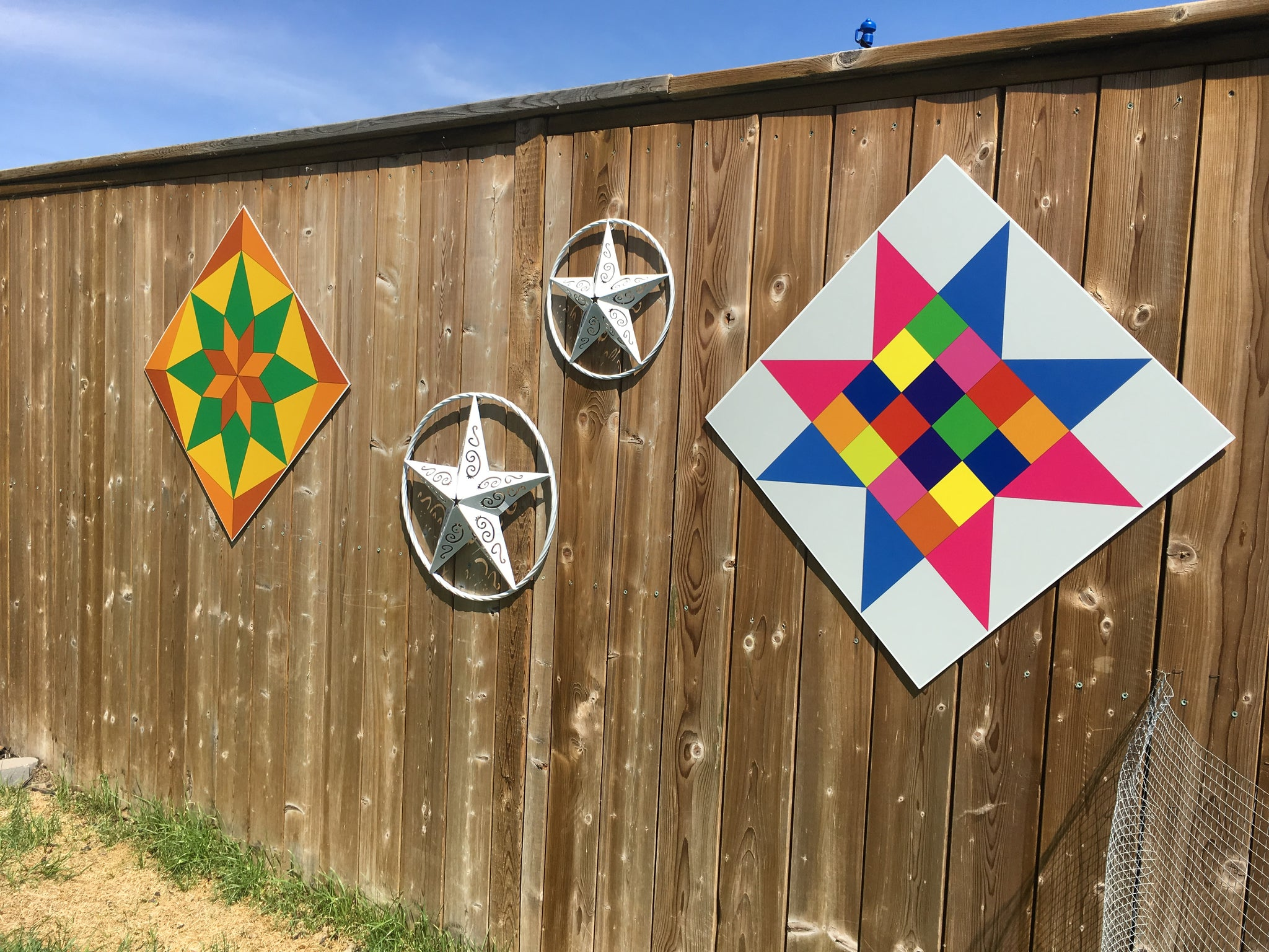 Playtime -  Backyard Barn Quilt - Quilt Designs in the Yard