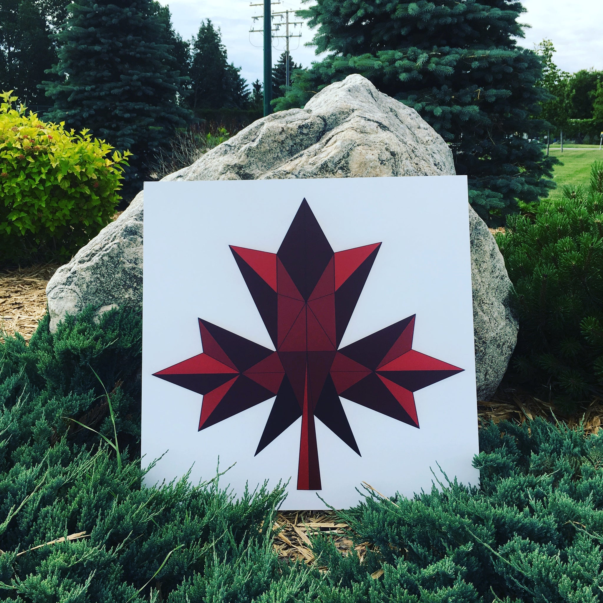 Canadian  Flag - Quilt Designs in the Yard