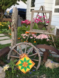 Prairie Backyard Barn Quilts - Quilt Designs in the Yard
