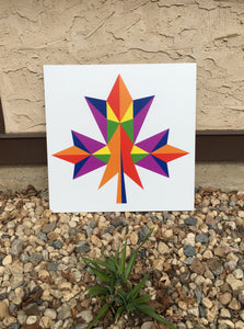 Diversity Backyard Barn Quilt - Quilt Designs in the Yard