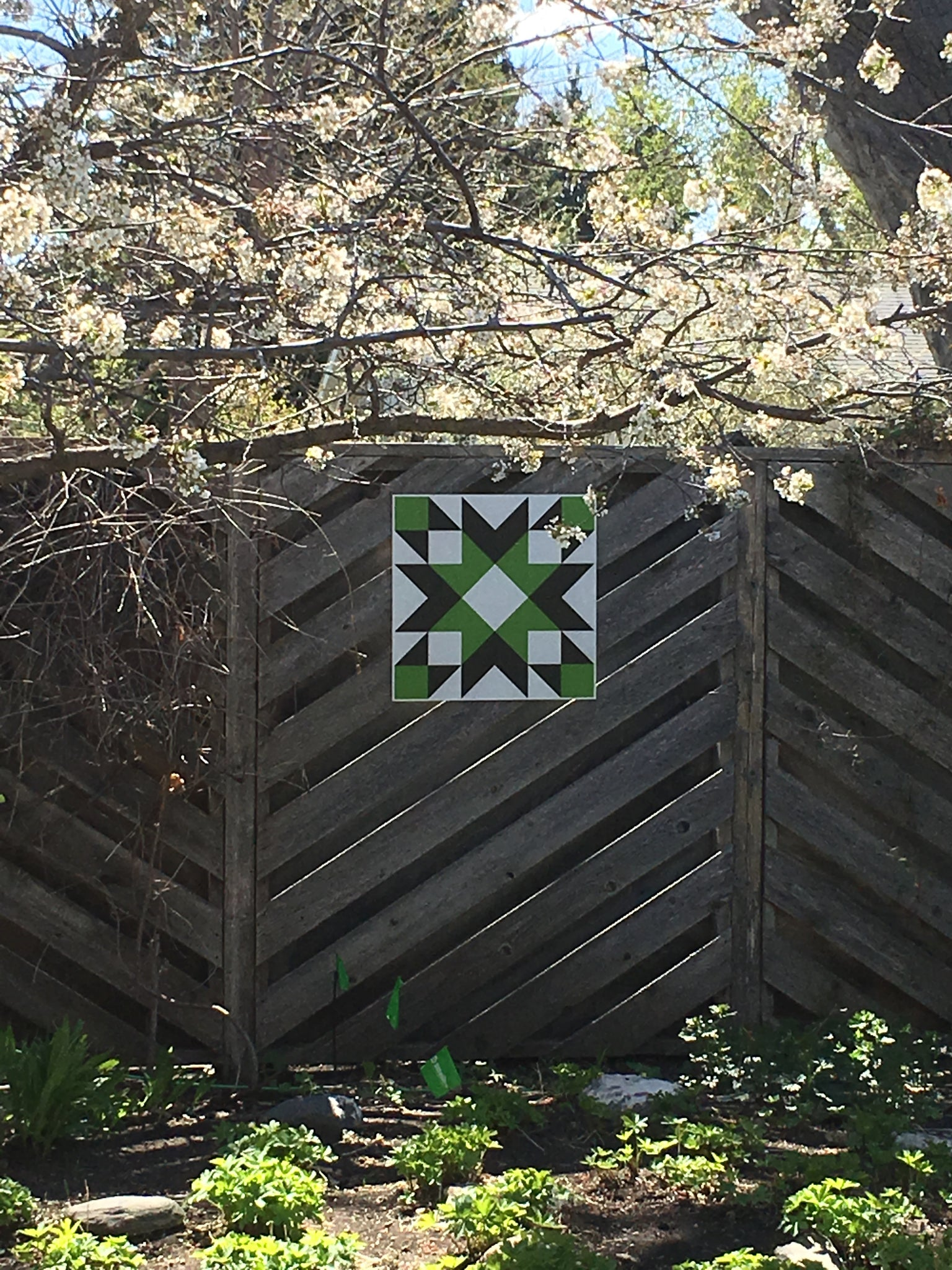 Go Team Go - Backyard Barn Quilt - Quilt Designs in the Yard