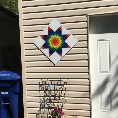 Starblanket Backyard Barn Quilts - Quilt Designs in the Yard