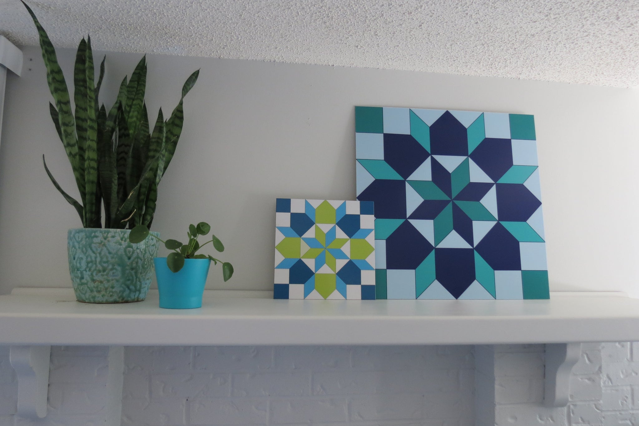 Inspiration - Quilt Designs in the Yard