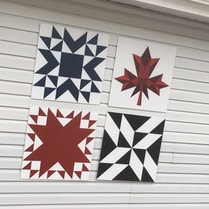 Oh Canada- Backyard Barn Quilts - Quilt Designs in the Yard