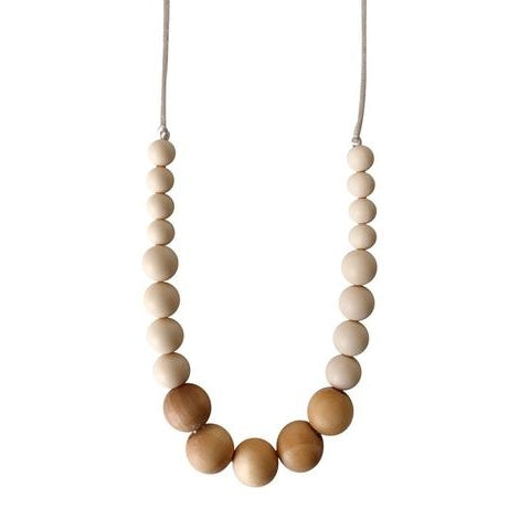 The Landon - Cream Teething Necklace