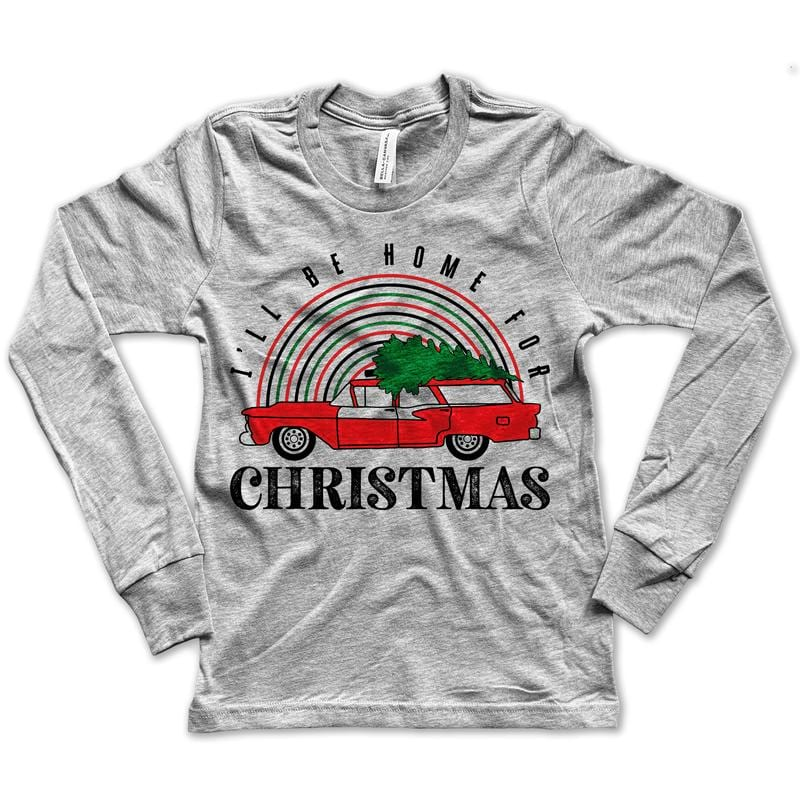 Home For Christmas Long Sleeve Tee
