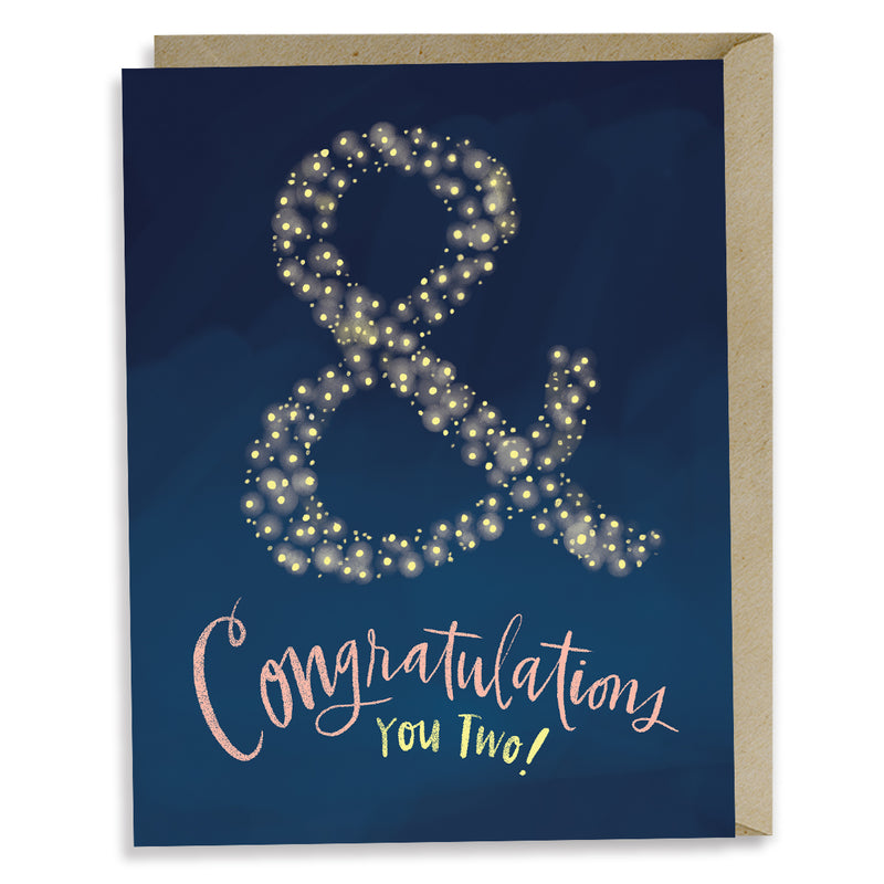Ampersand Congrats Enclosure Card