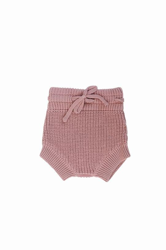 Blush Knit Bloomers