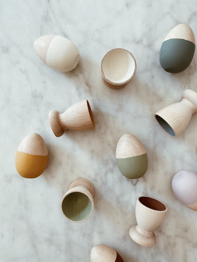 Egg and Cup Sorting Set | Natural Tones