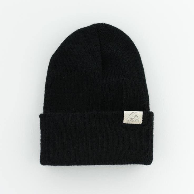 Jet Black Beanie - Available in Mommy & Me Sizes