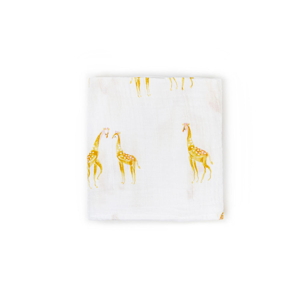Giraffe Count-the-Ways Cloth