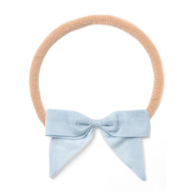 Headband Bow - Blue