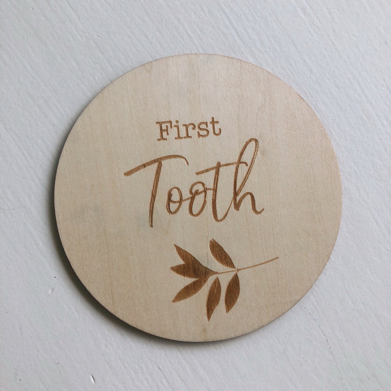 First Tooth Disc