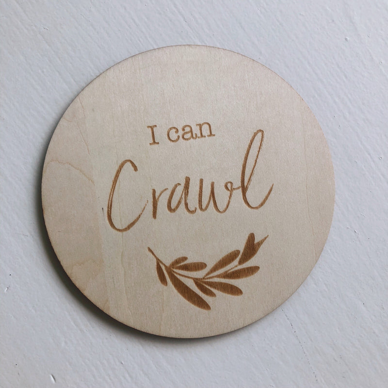 I Can Crawl Disc