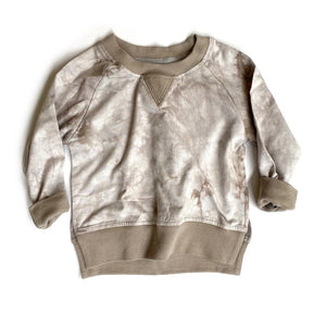 Pullover - Taupe Tie-Dye
