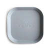 Square Dinnerware Plates, Set of 2 - Cloud