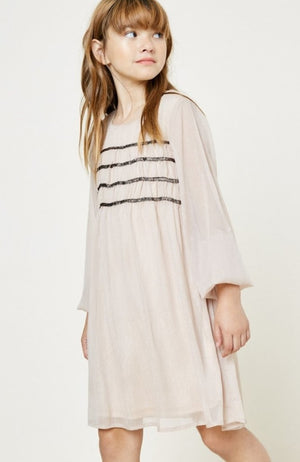 Ruched Babydoll Dress
