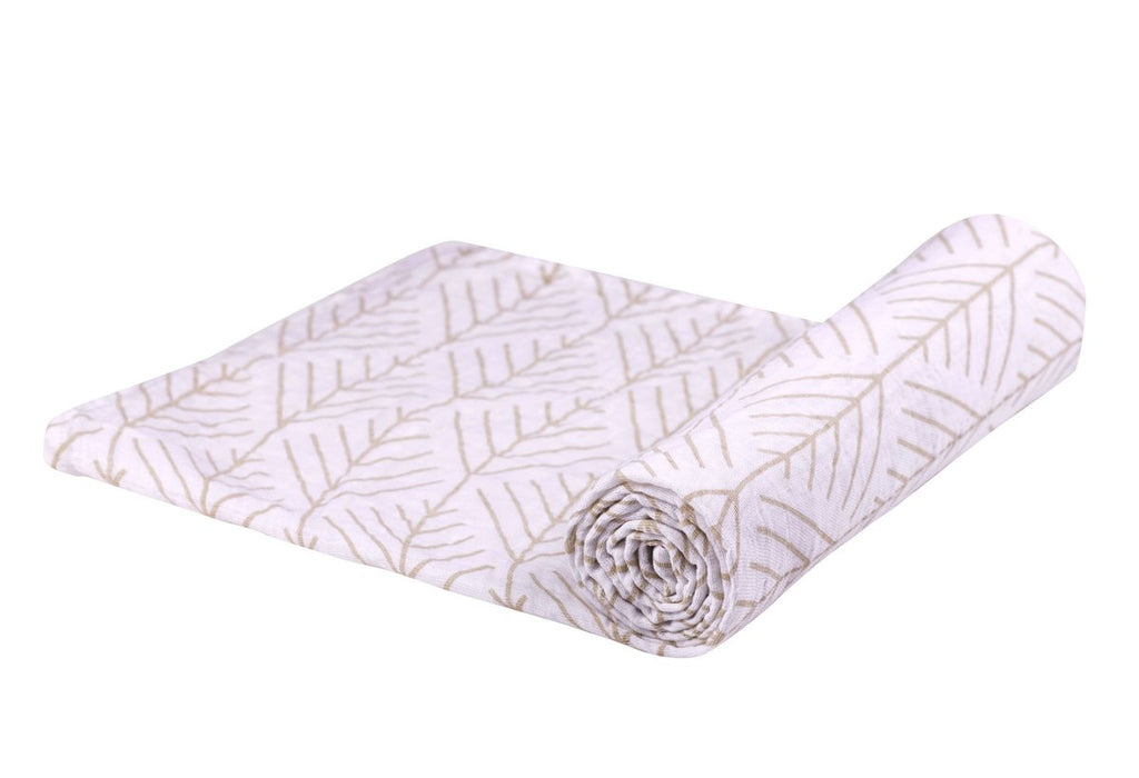 Forest Arrow Bamboo Muslin Swaddle