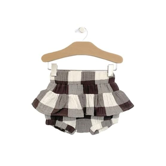Skirted Bloomer - Buffalo Check