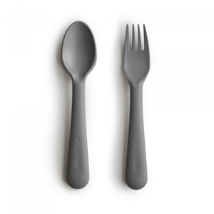 Fork and Spoon Set - Smoke