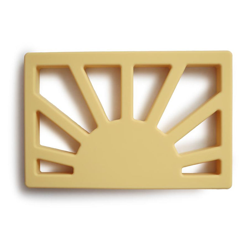 Sun Teether - Muted Yellow