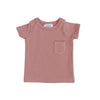 Rose Cotton Pocket Tee