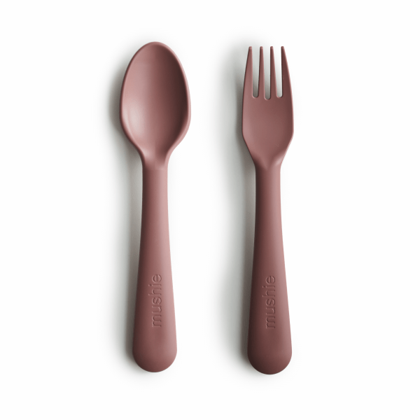 Fork and Spoon Set - Woodchuck