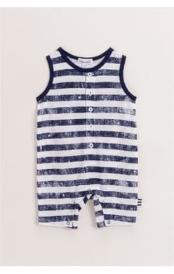 Splash Stripe Onesie