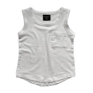 Pocket Tank - Off White