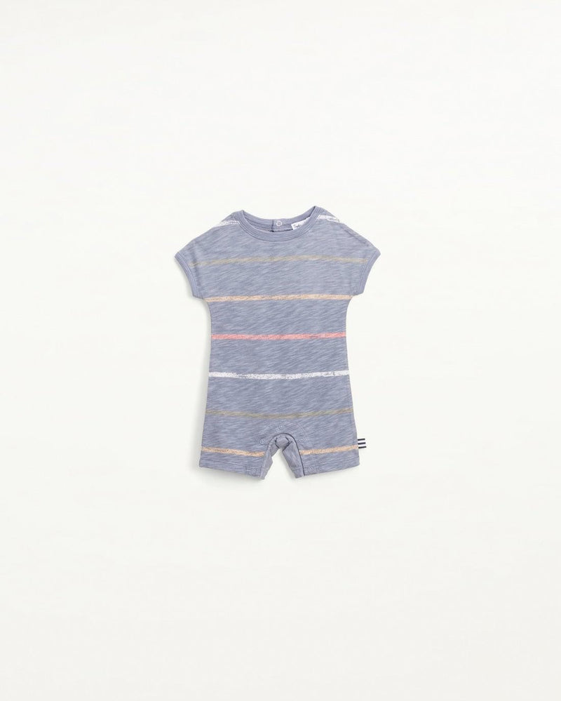 Infant Boy Painted Stripe Coverall
