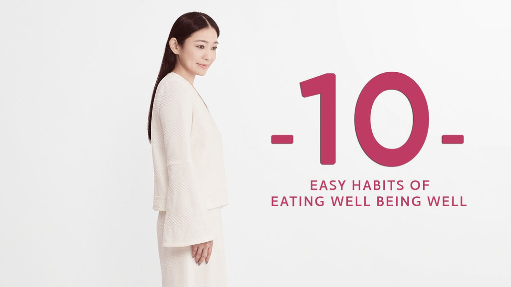 10 Easy Habits of Eating Well Living Well with Swee Lin