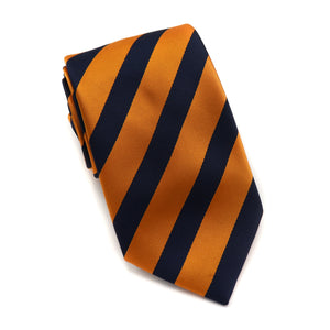 Amber and Navy Stripe