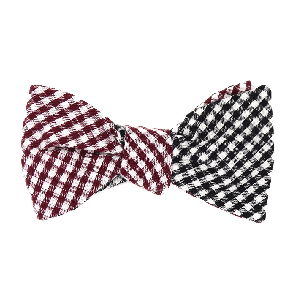Alabama Gingham Bow Tie