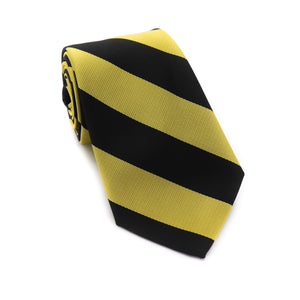 Black and Gold Tie