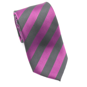 Purple and Black Stripe