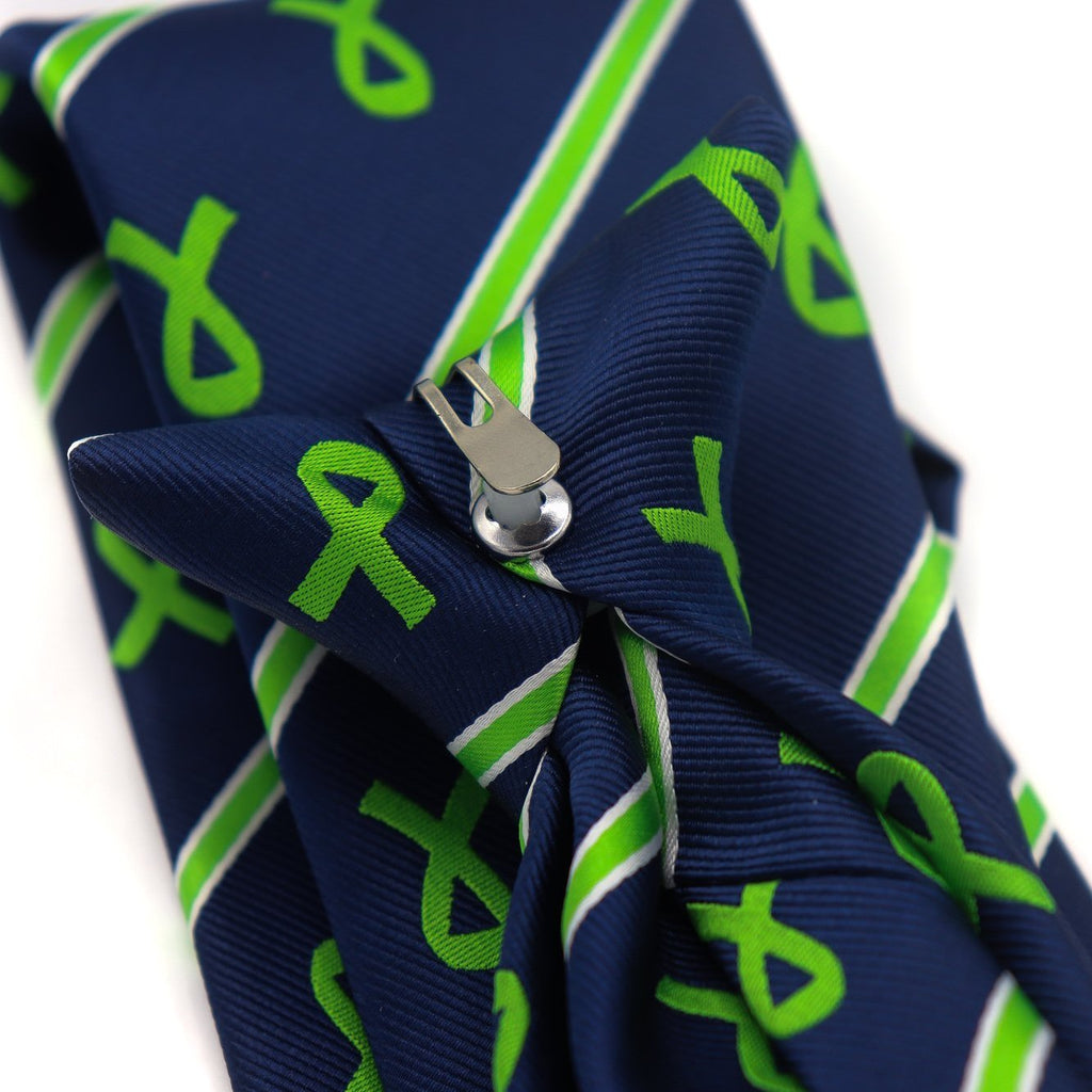 Cerebral Palsy Awareness Tie - Clip On