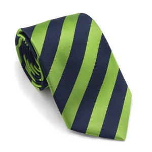 Green and Navy Stripe