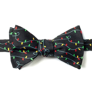 Holiday Lights Bow Tie