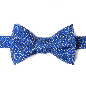 Off the Hook in Blue Bow Tie